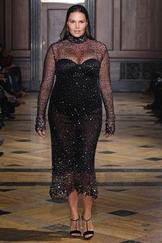 Saucy French designer unveils dramatic glam looks for all sizes ...