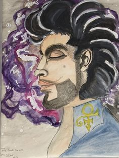 This is Prince and the Purple Crab Nebula