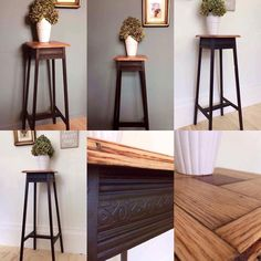 How To Make Paint, Stool, Decor Ideas, Antiques, Table, Furniture, Instagram, Home Decor, Antiquities