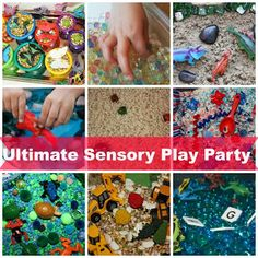 Ultimate Sensory Play Party