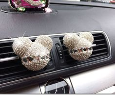 Free shipping 2pcsCandy Color  Mouse styling Fragrance car Vent Air Freshener outlet Perfume Diffuser Auto accessories P5