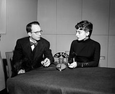 United Nations Photo: Actress Audrey Hepburn Interviewed at U.N. Headquarters