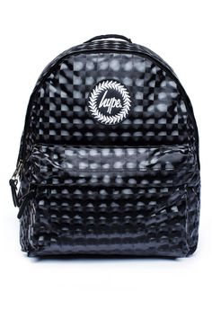 **Checkered Metallic Backpack by Hype - Bags & Purses - Bags & Accessories - Topshop Europe