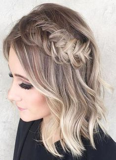 58 Best Ideas For Braids On Short Hairs 2018