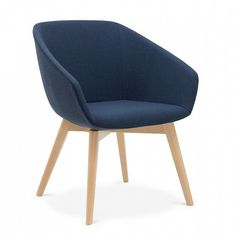 Italian made and designed, Brek is a contemporary mid back chair. Available in a range of base options and upholstered in your choice of fabric. Office Furniture, Contemporary, Chair, Fabric, Design, Home Decor, Tejido, Tela, Decoration Home