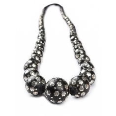 Tribal Jewellery: Designer Jewellery (Black Wooden Beads with Real Silver inlay work) I MY MAGNIFICO #beads #jewellry #valentinesday #magnifico