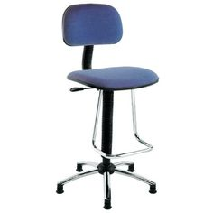 Mid-Back Drafting Chair with Footrest | Wayfair