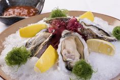 oysters on the half shell......Oh, Baby - Oh, Baby!!