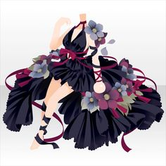 Anime Outfits, Cute Outfits, Cute Characters, Anime Characters, Character Inspiration, Character Design, Anime Dress, Cocoppa Play, Anime Hair