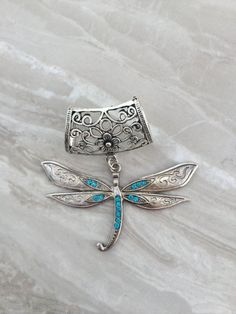 Silver dragonfly scarf bail scarf pendant scarf ring scarf silver dragonfly scarf bail scarf pendant scarf by dianasiancrafts mozeypictures Choice Image
