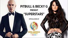 Pitbull y Becky G son la voz de la Copa América Centenario – HTV