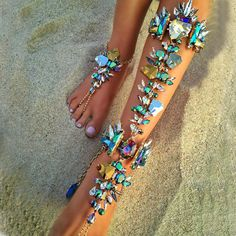 Best lady Boho Hot Cheap Sexy Leg Chain Ankle Bracelets Sandals Beach Foot Jewelry Summer Luxury Wedding Crystal Anklets 4483-in Anklets from Jewelry & Accessories on Aliexpress.com | Alibaba Group