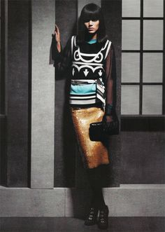 Freja Beha Erichsen for Chanel Fall/Winter 2007.08