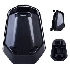 Black Hardshell Backpack for DJI Phantom 3 Standard, Advanced, Professional, 4K. Holds Five Backup Batteries + Charger (With the battery plugged in Phantom 3, Six Batteries in total). High-quality abrasion-resistant hard shell. WaterResistant Design. Removable inner foam to organize and protect your DJI Phantom 3 quadcopter and additional accessories.