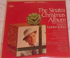 Vintage Christmas Record Album ~ The Sinatra Christmas Album