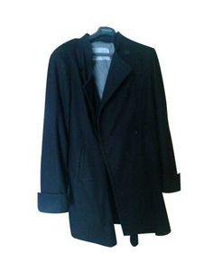 Abrigo Vestir Largo Negro Armand Bassi