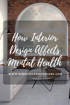 How Interior Design affects mental health and what you can do to improve your mental wellness at home Interior Design And Mental Health, Elements Of Design, Interior Design Inspiration, Home Accessories, Eve, Psychology, Improve Yourself, Home Improvement, Wellness