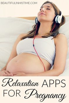 Relaxation apps and CDs to relax during pregnancy and prepare for birth -