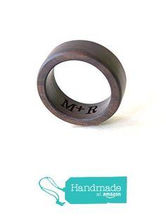 Ebony Wood Ring, Mens Wedding Band, Brown Ebony Ring, Women Wedding Ring, Wedding Ring, Unisex Ring, Wooden Wedding Jewelry, Ebony Jewelry, Holiday Gift from coolNaturalJewelry https://www.amazon.com/dp/B01AGROQZG/ref=hnd_sw_r_pi_dp_N48MybRK3EVNX #handmadeatamazon