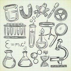 Find Set Science Object Doodle Style stock images in HD and millions of other royalty-free stock photos, illustrations and vectors in the Shutterstock collection. Science Drawing, Science Art, Science Activities, Science Projects, Science Fiction, Science Notebook Cover, Diy Planner, Science Doodles, Note Doodles