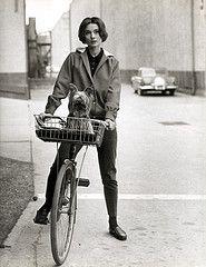 Audrey Hepburn + Bike