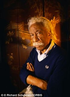 Gordon Parks, photographer, artist, muscian, photojournalist, writer, film director, a legend.