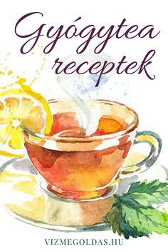 Gyógytea receptek a füvesembertől minden bajra Natural Health, Health And Beauty, Tea Time, Herbalism, The Cure, Tea Cups, Alcoholic Drinks, Vitamins, Clean Eating