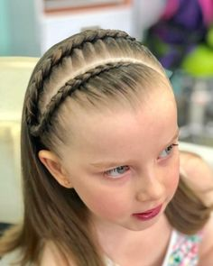 Princess Hairstyles, Little Girl Hairstyles, Cute Hairstyles, Braided Hairstyles, Gymnastics Hair, Natural Hair Styles, Short Hair Styles, Braids For Kids, Hair Game