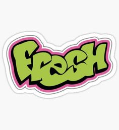 The Fresh Prince of Bel-Air Stickers Cool, Bubble Stickers, Phone Stickers, Printable Stickers, Happy Stickers, Ps Wallpaper, Graffiti Styles, Fresh Prince, Aesthetic Stickers