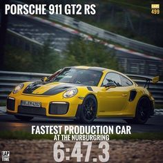 And we've got a new King in The ring people!!! The all new Porsche 911 GT2 RS has beaten the Lamborghini Hurácan Performante's Nurburgring record by smashing 5 secs!!! 😍😍😍 #porsche #porsche911 #gt2rs #nurburgring #nordschleife #911gt2rs #cars499 #instagood #greenhell #repost #carporn #automobiliardent #autogespotindia #petrolhead #NEWkinginthering #supercars #LarsKern