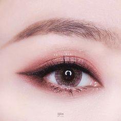 Korean Makeup Tips, Korean Makeup Look, Asian Eye Makeup, Kiss Makeup, Cute Makeup, Beauty Makeup, Makeup Looks, Makeup Trends, Makeup Inspo