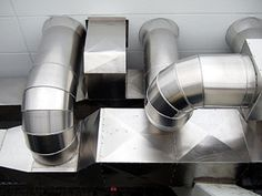 Metal heating duct p