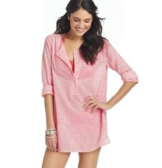 Henley Swimsuit Cover Up, 'twould be good for lounging in, too, after the baby comes.