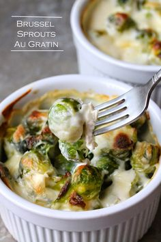 The Stay At Home Chef: Brussel Sprouts Au Gratin