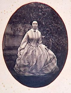 Portrait d'Adèle Hugo (Portrait of Adele Hugo, daughter of author Victor Hugo) ca. 1855 Musée d'Orsay | In the Swan's Shadow