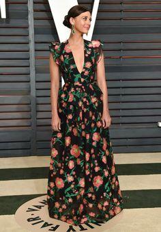 Rashida Jones in Andrew Gn at the Vanity Fair Oscar party