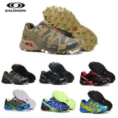 9275a4ed77ae Discount Salomon Speed Cross 3 CS Cross-country Running Shoes Brand Sneakers  Male Athletic Sport Shoes SPEEDCROS Fencing Shoes