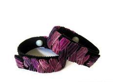 Anti-Nausea/Motion Sickness Bracelets (pair) Purple Haze