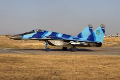 Is this the least effective camouflage in the world? Mig 29 off Ukraine Air Force in crazy camo