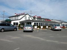 The Lobster Pound in Lincolnville, Maine just north of Camden. Outstanding seafood.