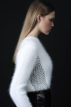 hughjardon:  Wow! What a beautiful angora sweater.