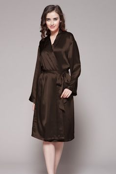 ... los angeles c9d9c aa11d Online shop for natural silk robe in custom  plus size 987bc1756