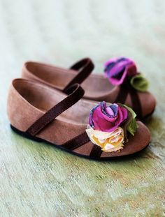 The Sweetest Little Girl's Shoes by JoyFolie   ...love Maegan