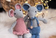 Mäuserich Malvin - Gratis Häkelanleitung - Häkeln amigurumi tier - Amigurumi Tips Easy Blanket Knitting Patterns, Crochet Patterns, Dou Dou, Crochet Instructions, Love Crochet, Crochet Mouse, Diy Crochet, Knitted Blankets, Crochet Animals