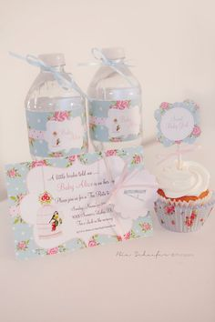 Shabby Chic Floral Birthday Party or Baby Shower by twinklelittleparty, $8.50