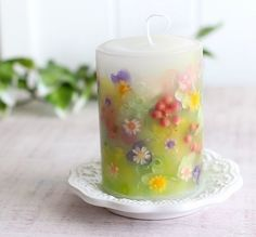 This candle is too pretty to burn!