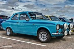 Escort Mk1, Ford Escort, Ford Rs, British Sports Cars, Ford Classic Cars, Rally Car, Car And Driver, Nice Cars, Fiat