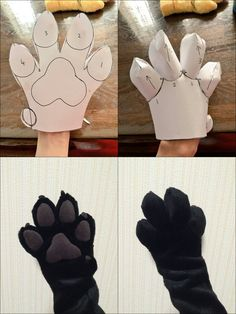 Fur Affinity is the internet's largest online gallery for furry, anthro, dragon, brony art work and more! Fursuit Paws, Fursuit Head, Fursuit Tutorial, Furry Suit, Marionette, Diy Accessoires, Cosplay Diy, Animal Costumes, Cool Diy