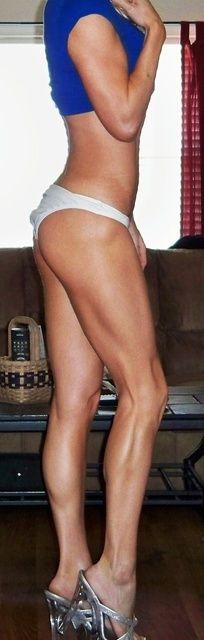 runner's legs. // goal.