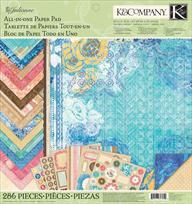 K&Company® | Julianne Vintage All-In-One 12x12 Paper Pad